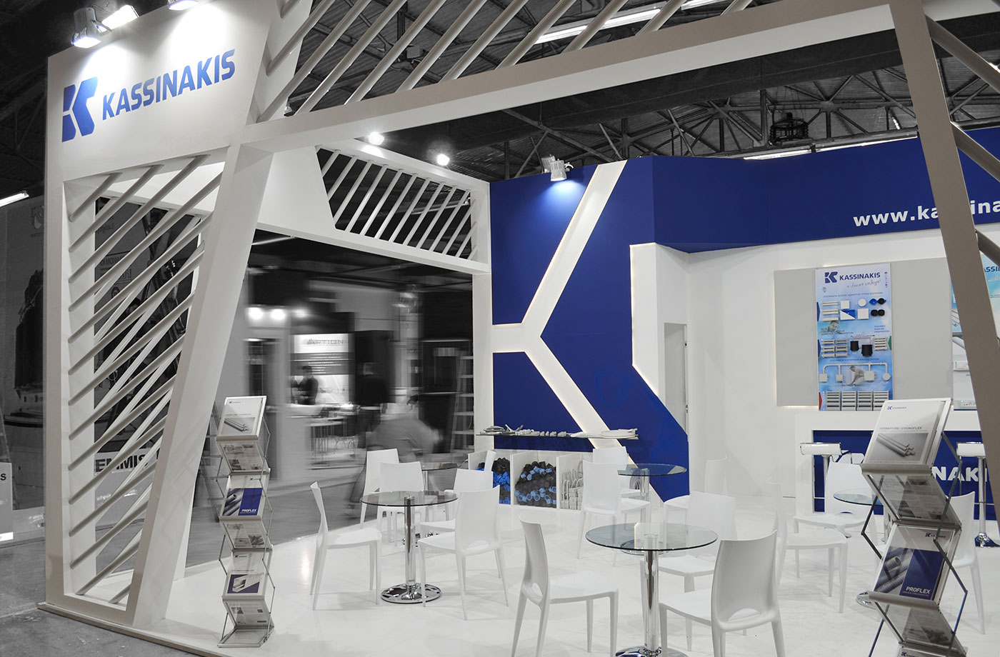 Exhibition Stand Projects : Kassinakis exhibition stand